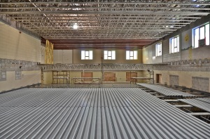 March 08, 2013 - Progress as the floor has been lowered to the new level