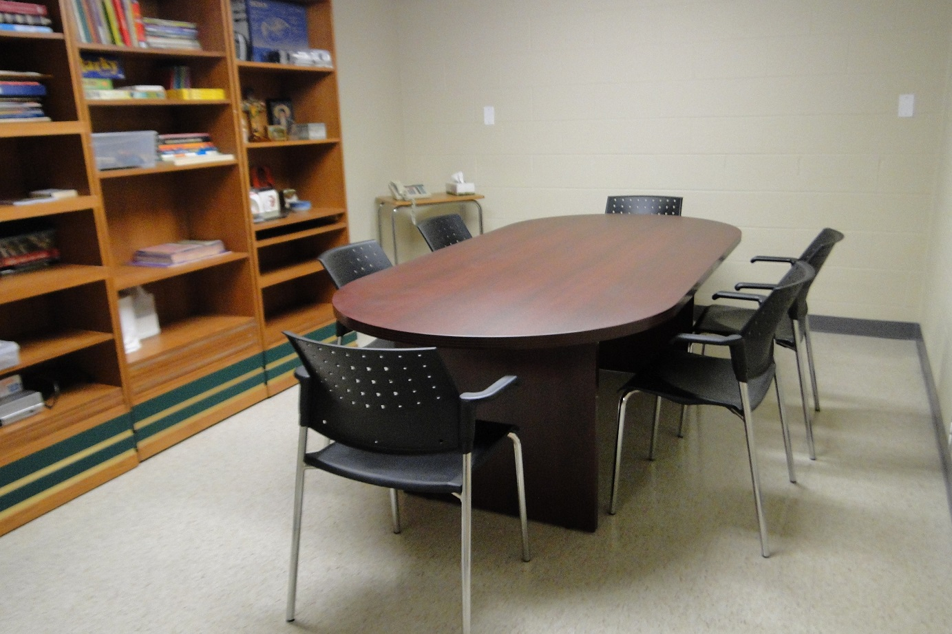 Lower Level Meeting Rooms Library And Hall