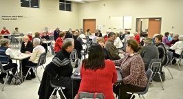 Valentine's Card-A-Rama - fun way to spend a cooooold February evening! Thanks to the FET team for organizing this event.