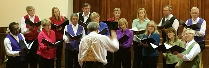 Marion Singers A Cappella group in concert on Saturday April 25