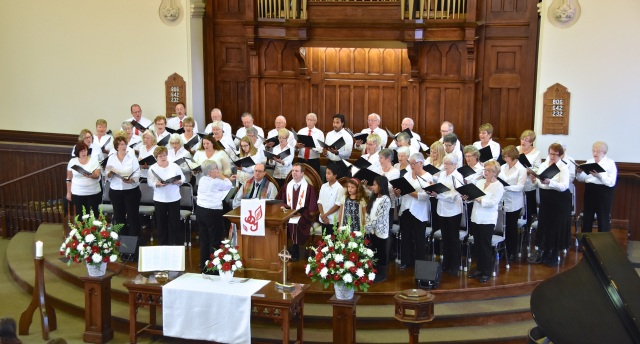 Rededicate Sanctuary Choir Nov 1 2015