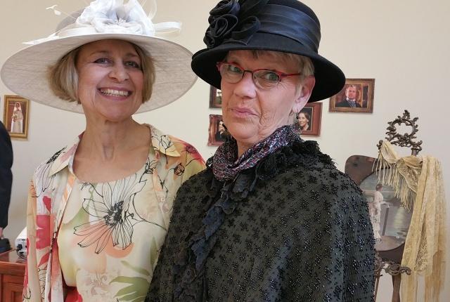 DA Tea Carol and Sue