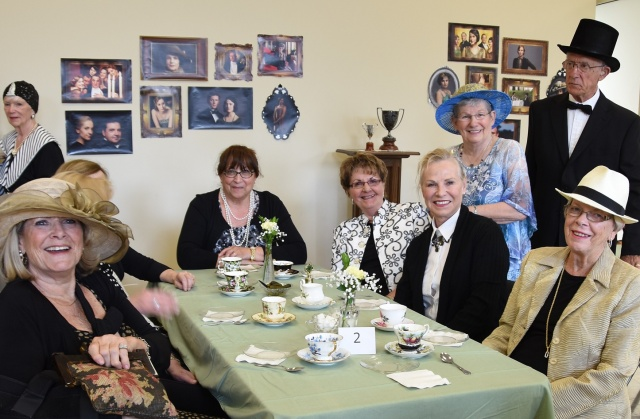 DA Tea ladies and top hat photo 8