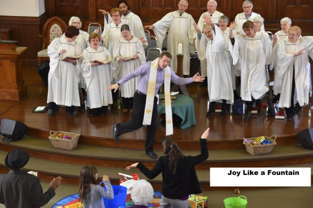 Feb 7 Service 2 Joy is like a Fountain