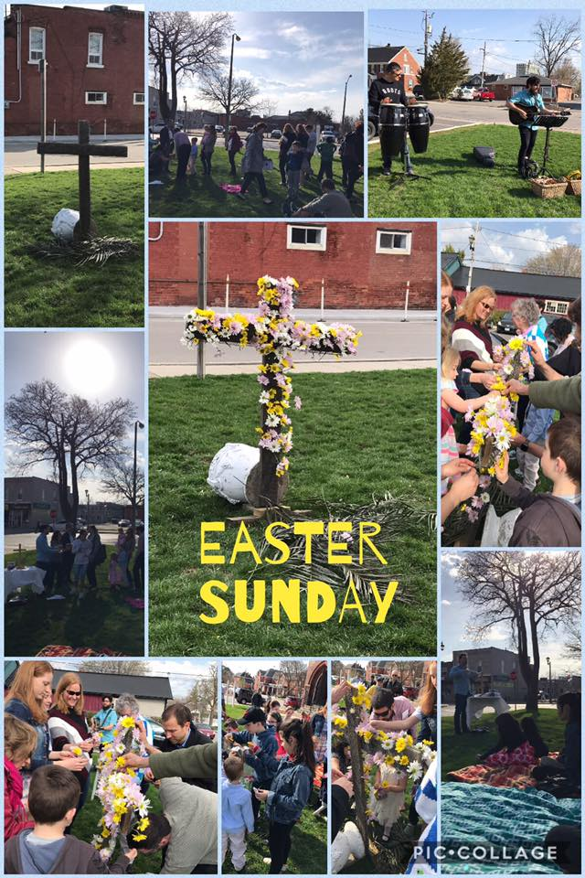 Easter Sunday 2017 outdoor service