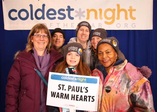 St Paul's Warm Hearts Team 2018