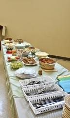 Excellent buffet lunch!